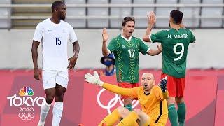 Mexico vs. France | Tokyo Olympics 2020: Men's Soccer Highlights | NBC Sports
