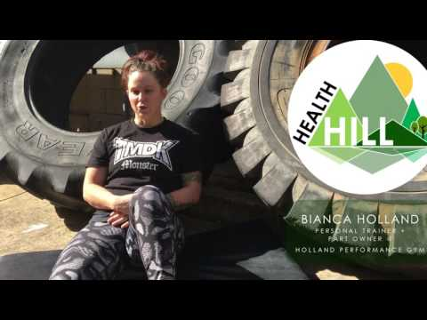 BIANCA HOLLAND - FREE WEIGHTS VS  RESISTANCE MACHINES