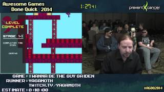 I Wanna Be The Guy: Gaiden :: SPEED RUN (05:48) by Yagamoth [PC] #AGDQ 2014