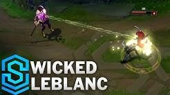 Wicked LeBlanc Skin Spotlight - Assassin Update 2016 - League of Legends