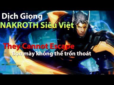 Dịch Giọng Nói Skin Nakroth Siêu Việt/ Murad Siêu Việt  - Dịch giọng tướng Liên Quân Mobile Việt Nam