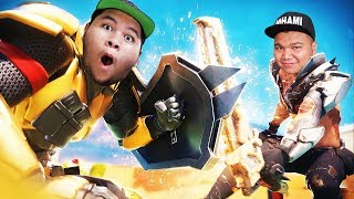 (1v1) WHO can kill OOHAMI can ' ' FREE BATLLE PASS! 🌟 ' '-(FORTNITE MALAYSIA) w/Team Fires