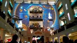 Световое шоу Центральный Детский Магазин на Лубянке