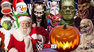 HALLOWEEN vs CHRISTMAS | WWE 2K19 Royal Rumble