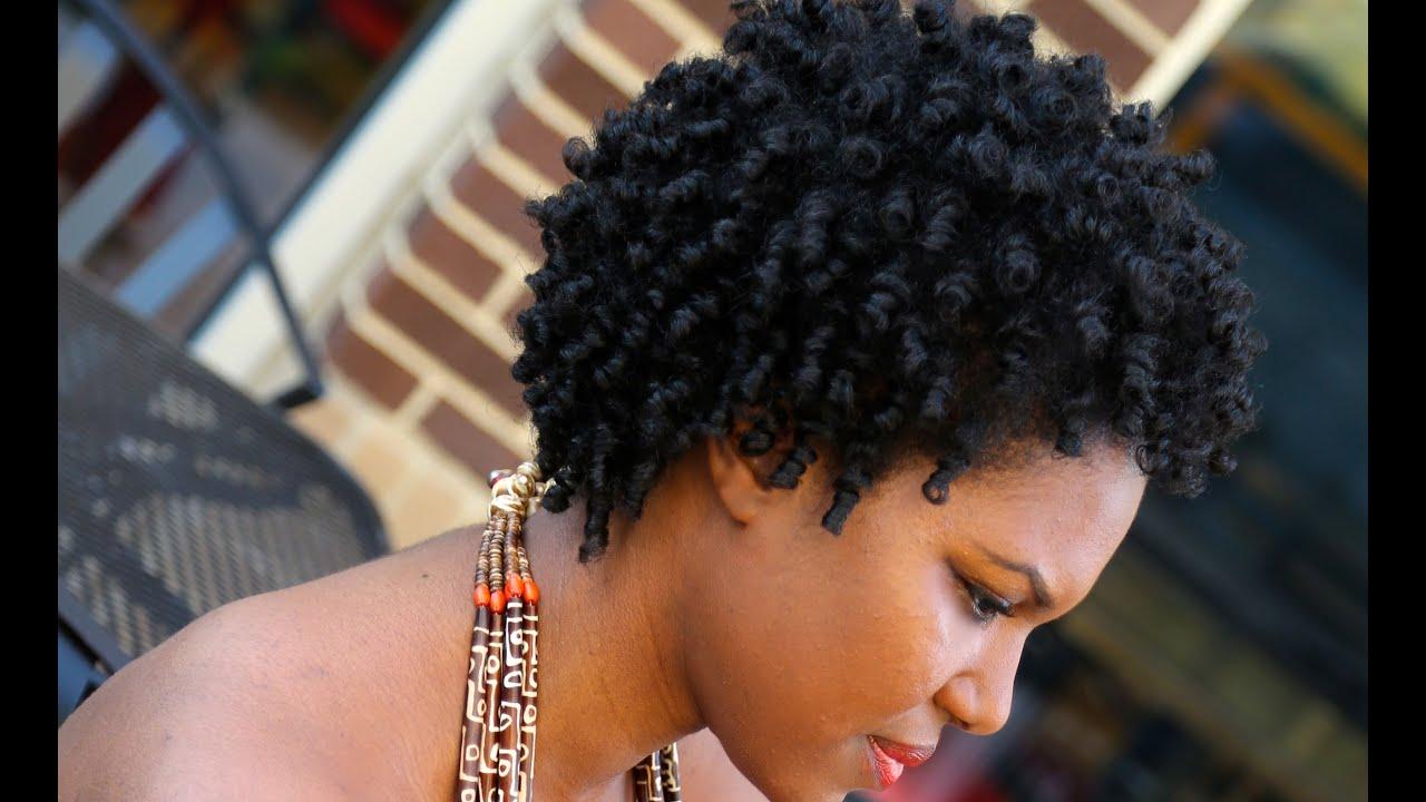 natural hair 4c heatless coily