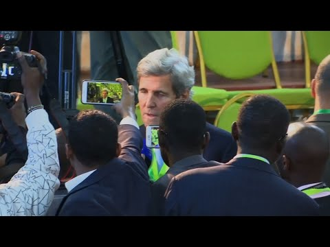 John Kerry Leads Kenya Election Observers Group