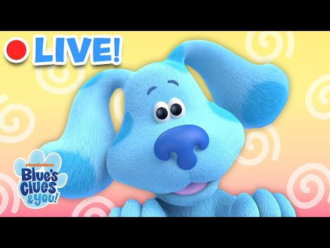 🔴 24/7 Blue Skidoo, We Can Too!   Blue's Clues & You!