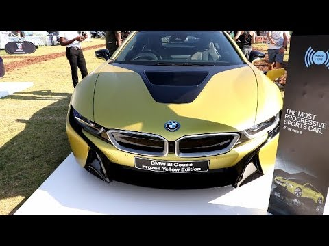Bmw I8 Coupe 2018 Frozen Yellow Edition 1 Of 3 In Rsa Youtube