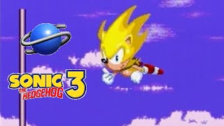 Sonic the Hedgehog 3 playthrough (SEGA Saturn)