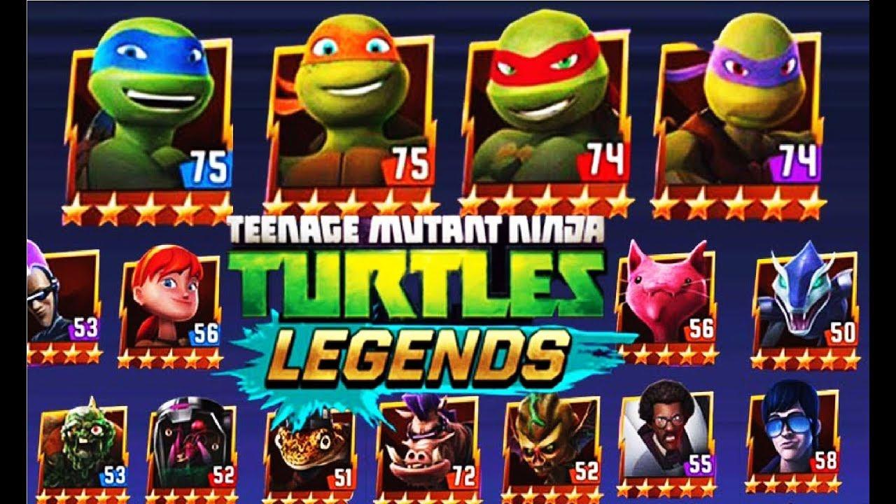 Черепашки ниндзя ЛегендыTMNT Legends #1 Мульт игра для ...