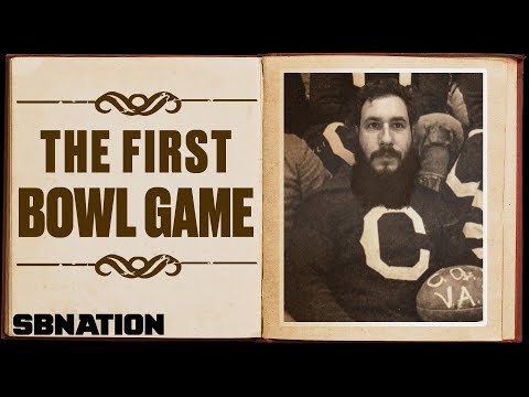 College football's first bowl game was almost its last | 1st
