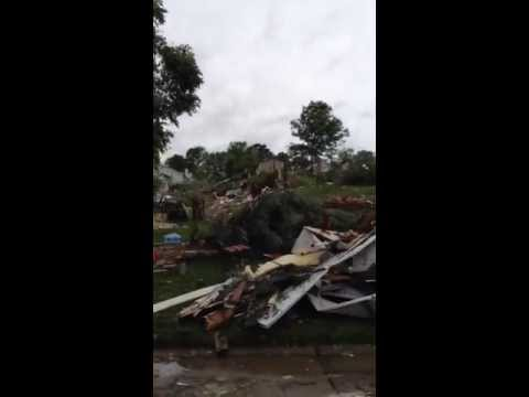 Tornado Damage in St. Charles County Missouri 5/31/2013