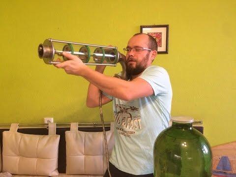 "Перегоняю пивной спирт-сырец на тарельчатой колонне ""Доктор Градус"""