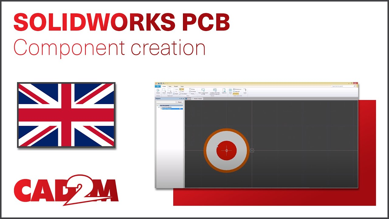 Solidworks Pcb Component Creation Youtube How To Create An Electrical Diagram Using Integrated Circuit Library