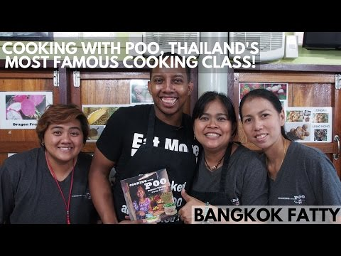 Dwight Joins Cooking With Poo, Thailand's Most Famous Cooking Class!