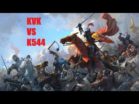 Clash Of Kings - KVK 1660 Huge Kingdom Points Difference VS Kingdom 544