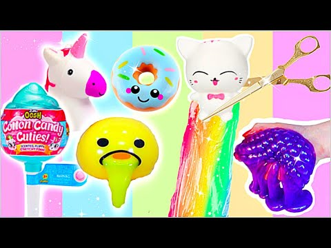 ANTI-STRESS SPIELZEUG ZERSCHNEIDEN COMPILATION! Cutting Open new Squishy Toys! #patdiy