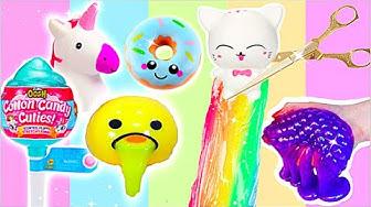 ANTI-STRESS SPIELZEUG ZERSCHNEIDEN COMPILATION! Cutting Open new Squishy Toys I PatDIY