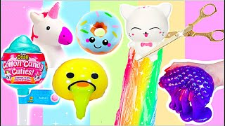 ANTI-STRESS SPIELZEUG ZERSCHNEIDEN COMPILATION! Cutting Open new Squishy Toys! #patti PatDIY
