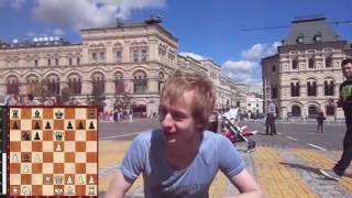 Шахматы на Красной площади. Олег Соломаха - Евгений Новиков. Год спустя.