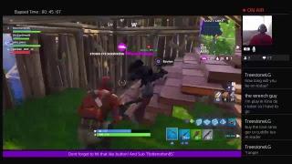 Ps4 FORTNITE live stream SUB squads