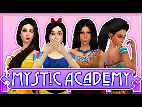 The Sims 4: Mystic Academy ✨ Ep. 8 ♛ Snow White Meets Prince! ♛ - 동영상
