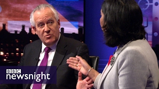 Peter Hain and Suella Fernandes clash on Brexit and the House of Lords - BBC Newsnight