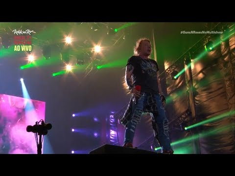 Guns N' Roses - Welcome To The Jungle (Rock In Rio 2017) [HD]