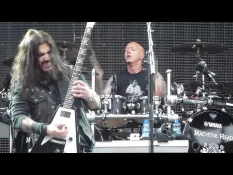 Machine Head Be still and know LIVE Prague, Czech Republic 2012-05-07 1080p FULL HD