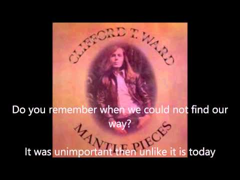 Clifford T Ward - Are You Really Interested?  - Karaoke Version