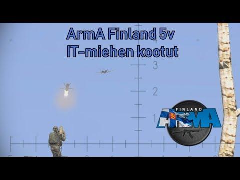 ArmA Finland 5v event - Ilmatorjuntamiehen koottuja paloja