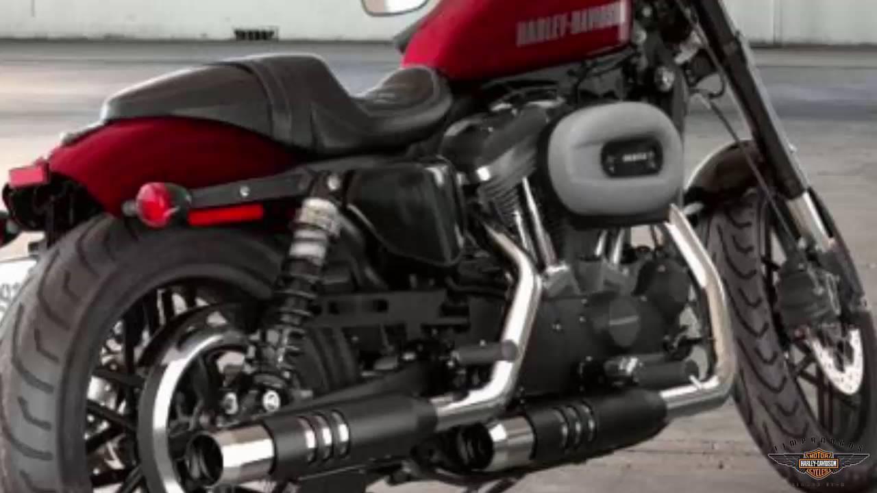 Harley Davidson Iron  Red Color