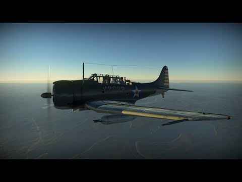 War Thunder (Arcade): SBD-3 Dauntless - A Daunting Prospect
