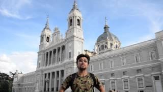 アキーラさん訪問①スペイン・マドリッド・王宮横のアルムデーナ大聖堂!Almudena-cathedral,Grand-palace,Madrid,Spain