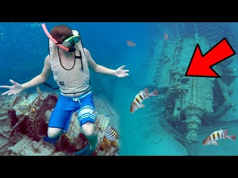 SHIPWRECK FOUND IN OCEAN!