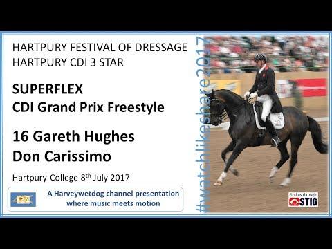 HARTPURY FESTIVAL OF DRESSAGE: Gareth Hughes Grand Prix Freestyle