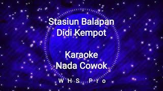 Download Stasiun Balapan Karaoke Didi Kempot Nada Cowok (Karaoke Version)