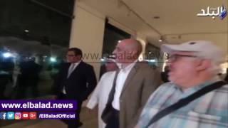 بالفيديو والصور.. افتتاح معرض تشكيلى لفنانين كويتيين بمركز محمود مختار
