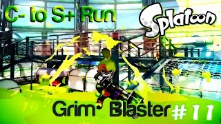 Splatoon C- to S+ Run -- Grim Blaster Pt. 11