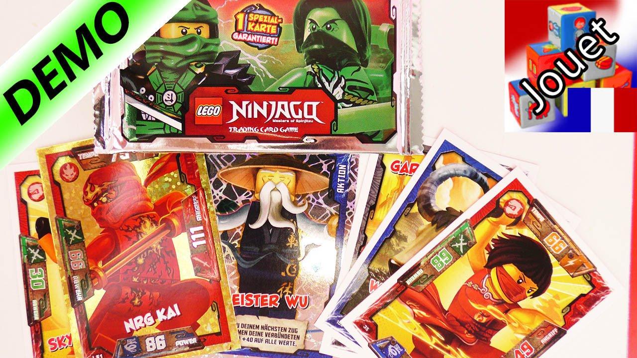 Lego ninjago trading card game d ballage de nouvelles - Carte ninjago ...