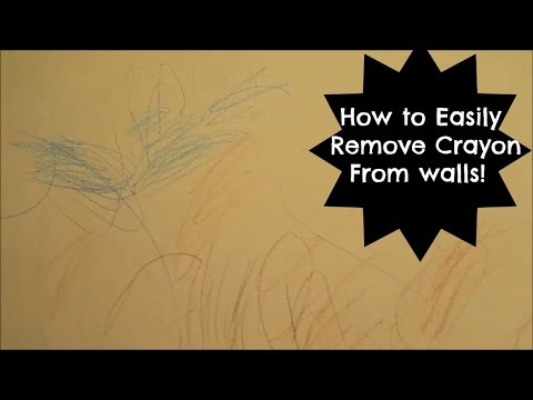 The Best Easiest Way To Clean Crayon Off Your Walls