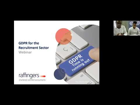 GDPR for the Recruitment Sector