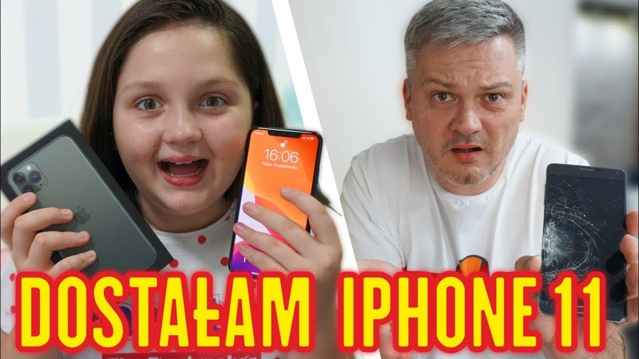 DOSTAŁAM IPHONE 11 PRO MAX ? TATA ZNISZCZYŁ TELEFON ?