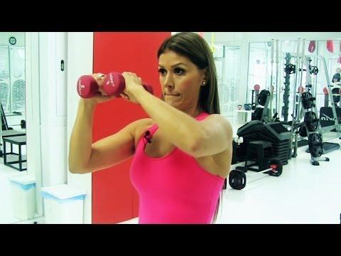 Cómo quitar los gorditos de los brazos y espalda/ Tonif