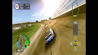 NASCAR 07 PlayStation 2 Gameplay - Cruising