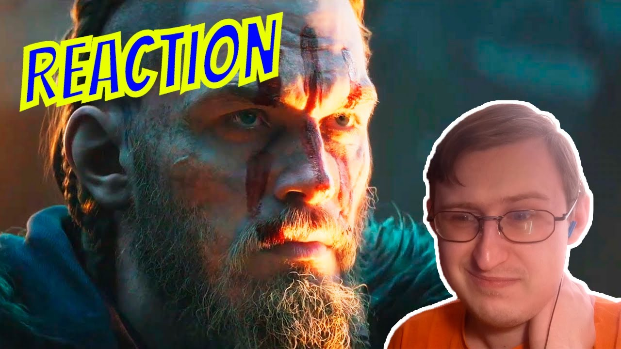Assassin's Creed Valhalla: Cinematic Trailer | RUSSIAN REACTION