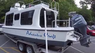 2000 Adventure Craft 2800 Trailerable Houseboat For Sale On Norris Lake - Sold!