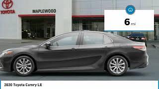 2020 Toyota Camry LE Maplewood, St Paul, Minneapolis, Brooklyn Park, MN L10506