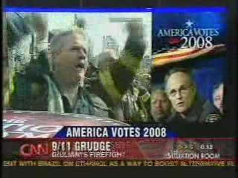 Rudy Giuliani is a fraud. 9/11 firefighters agree.