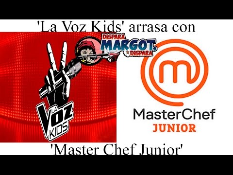 39 la voz kids 39 arrasa con 39 master chef junior 39 youtube - Chef titanium con voz ...